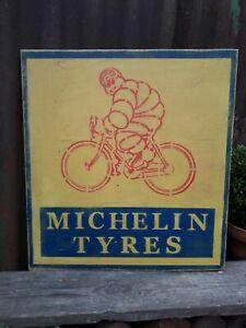 MICHELIN TYRES SIGN BICYCLE RALEIGH GARAGE  CHOPPER MK1 MK2 BMX BSA RUDGE DUNLOP