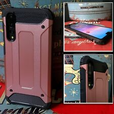 Huawei  P20 PRO  Rugged  Bumper Cover Industrial  Metal Case Bronze   ISPORT™