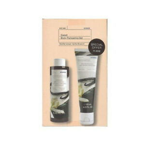 Korres Mediterranean Vanilla Blossom Shower Gel & Body Milk Kit Happy To Gift
