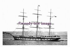 rs0099 - UK Sailing Ship - Hesperus , built 1874 - photograph
