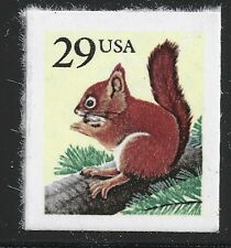 US Scott #2489, Single 1993 Red Squirrel 29c VF MNH