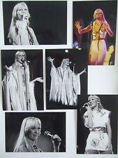 Agnetha Faltskog Live Concert Tour 1977 Photo Set 1 *Mamma Mia ABBA Frida A SOS