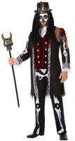 Déguisement Homme Sorcier VAUDOU XL Halloween Squelette NEUF