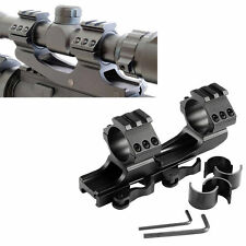 25.4mm/30mm Quick Release Cantilever Weaver Forward Reach Dual Ring scope mount