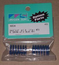 Mugen Seiki H0534 Rear Shock Springs 1.8 (Blue) (2) MTX5 MTX3 MTX4R