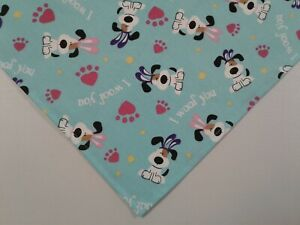 Dog Bandana/Scarf,Tie On, Easter, Dogs, Bunny Ears, Custom Made by Linda , S,M,L