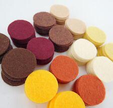 """Kitchen Spices - 128 Die Cut 1"""" Wool Blend Felt Circles"""