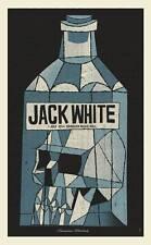 Jack White Amsterdam 2014 Poster Screen Print Methane Signed Third Man Stripes