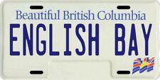 English Bay Vancouver Beautiful British Columbia Canada Aluminum License Plate