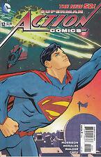 SUPERMAN: ACTION COMICS 12B VARIANT...NM-...2012...Grant Morrison...HTF Bargain!