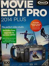 Magix Movie Edit Pro 2014 Plus opened