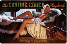 Casting Couch Greg Hildebrandt  Metal Sign