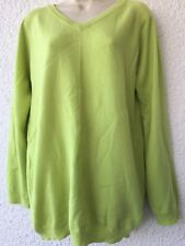 Rebecca Moses V-neck 100% Cashmere Sweater.  Size M. Made in Italy