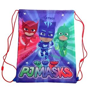 PJ Masks Heroes Large Drawstring Bag,Fast delivery