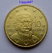 Griekenland / Greece 10 cent 2002 UNC