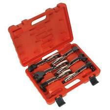 Sealey Welding/Riveting Rounded Contours Axial Locking Grip Set 6 Piece- AK68403