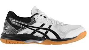 ASICS Gel Rocket 9 Ladies Court Shoes Black Size UK 7 US 9 *REFCRS69