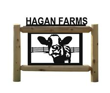 Holstein Cow Sign