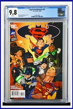 Superman Batman #51 CGC Graded 9.8 DC October 2008 White Pages Comic Book
