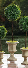 """faux Topiary ball urn planter 29"""" tall floral outdoor wedding table centerpiece"""