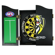 Essendon Bombers AFL Dart Board Set - Dartboard + Cabinet + Darts Man Cave Gift