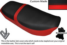 BRIGHT RED &BLACK CUSTOM FITS HONDA CB 650 SC NIGHTHAWK 82-85 DUAL SEAT COVER