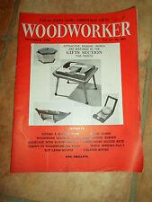 Woodworker December 1960 ~ Retro Vintage Illustrated Magazine + Advertising