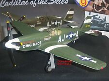 KING AND COUNTRY AF11 P51B MUSTANG US AIRFORCE AIRCRAFT + TOY SOLDIER PILOT