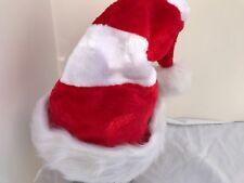 Waldo Peppermint Santa Hat Striped Plush Sz S/M Children Teens Holiday Party Cap