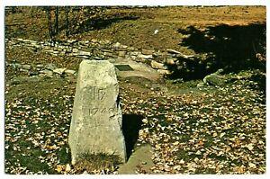 Postcard~ Fairfax Stone Historical Monument~ West Virginia