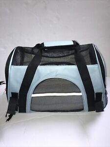 Paws & Pals Pet Carrier Soft Sided Small Cat Dog Comfort Missing Shoulder Strap