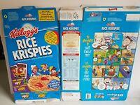 1990s Rice Krispie Cereal Boxes Lion King 2 Vintage