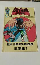 Batman et robin # 32 edition interpresse