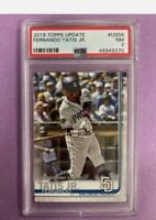 2019 Topps Update Fernando Tatis Jr RC Rookie #US56 PSA 7 NM Padres