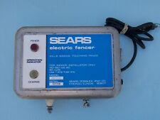 Sears Fence Charger Electric Fencer For Cow Horse Farm Fence Tested 60 Cycle
