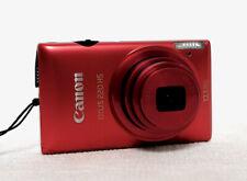 CANON IXUS 220HS Compact Digital Camera red