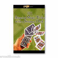 101 Magic Tricks With A Stripper Deck Book - Learn New Tricks - US Seller