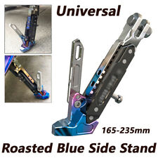 Motorcycle Universal CNC Aluminum Alloy Adjustable Kickstand Foot Side Stand