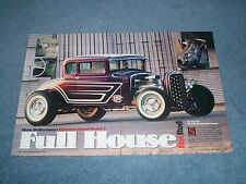 """1930 Ford Model 5-Window Highboy Coupe Article """"Full House Hot Rod"""""""