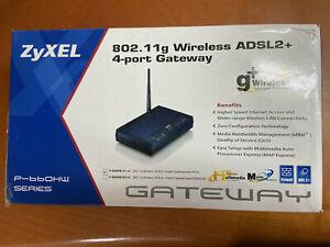 Brand New ZyXEL Prestige 660HW-D1 - wireless router - DSL - 802.11b/g