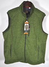 NWT Orvis Fly Fishing Denali Fleece Fall Sweater Vest Green XXL Media Pocket NEW