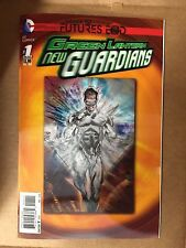 GREEN LANTERN NEW GUARDIANS FUTURES END #1 3D LENTICULAR COVER 1ST PRINT DC 2014