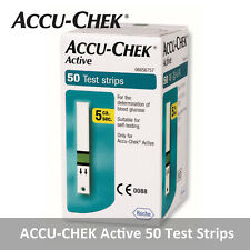 ACCU CHEK Active 50 Test Strips 50 Sheets Genuine Made in Germany_Exp 11/2021