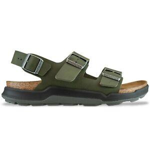 Birkenstock Sandals - Mens Birkenstock Milano sandals in Black, Khaki - BNWT