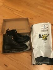 DR MARTENS BLACK 1460 PASCAL LEATHER ANKLE BOOTS UK 7 EU 41