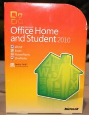 Microsoft Office 2010 Home and Student, Full UK Retail box with Product key Card