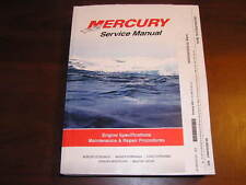 Mercury 200/225/250/3.0L Work EFI Serv Manual start ser # OT409000 90-884294R01