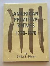 American Primitive kives 1770-1870 .. 1st Edition 1983....Excellent
