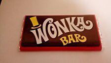 Willy Wonka Barra de Chocolate Regalo billete de oro en el interior Gran Regalo Original