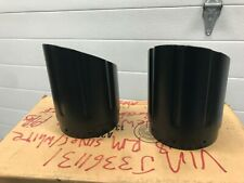 Indian Black Six Shooter Exhaust Tips, Pair Item # 2879530-266